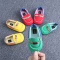 2016 Infant Toddler Zapatos de Bebé Suave Suela Los Zapatos Del Pesebre Antideslizante Zapatillas de Lona Primeros Caminante Venta Caliente