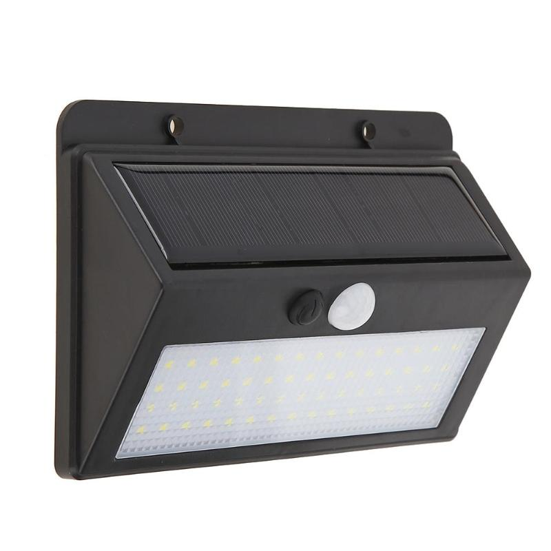 LED Solar Power PIR Motion Sensor Wall Light 60 LED Outdoor Waterproof Energy Saving Street Yard Path Home Garden Security Lamp led solar power lamp pir motion sensor wall light 73 leds outdoor waterproof energy saving street yard path garden security lamp