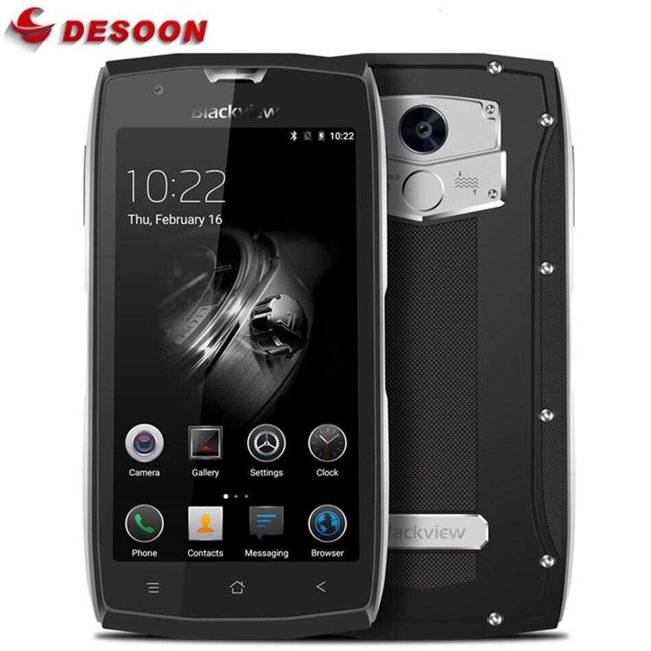 Blackview BV7000 IP68 Smartphone MT6737T 16GB 2GB WCDMA/LTE/GSM Fingerprint Recognition