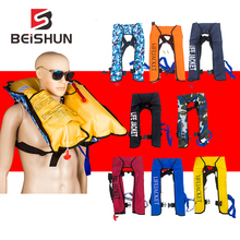 Can be Customized 5 Sec Manual Inflatable Life Jacket Snorkeling Floating Swimming Drifting Surfing Water Sports Lifejacket