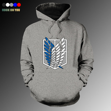 Attack On Titan Jacket Man Pullover Hoodie Sweatshirt