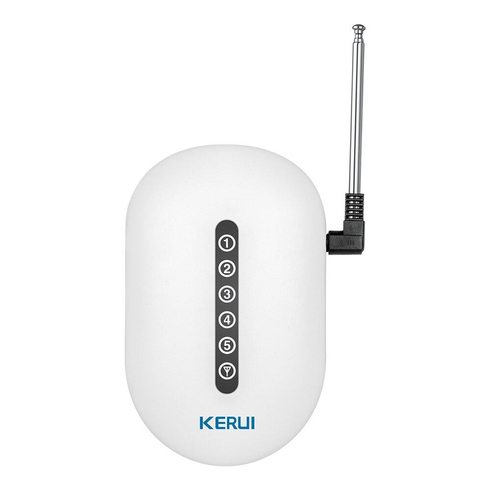 KERUI беспроводной передачи сигнала/ретранслятор сигнала Booster Extender двойной телевизионные антенны для дома охранной сигнализации системы