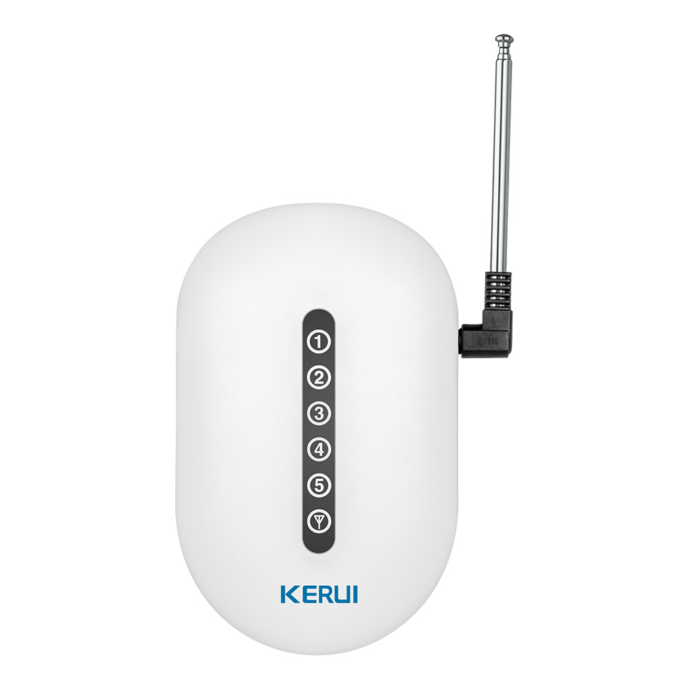 KERUI transfert de Signal sans fil/répéteur de Signal Booster Extender double antenne pour système de sécurité d'alarme domestique