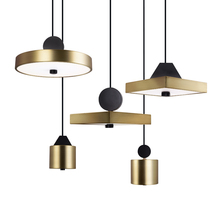New classical pendant lights Nordic brief lamp creative metal and acrylic multi style comebo lighting LED Deco lampe