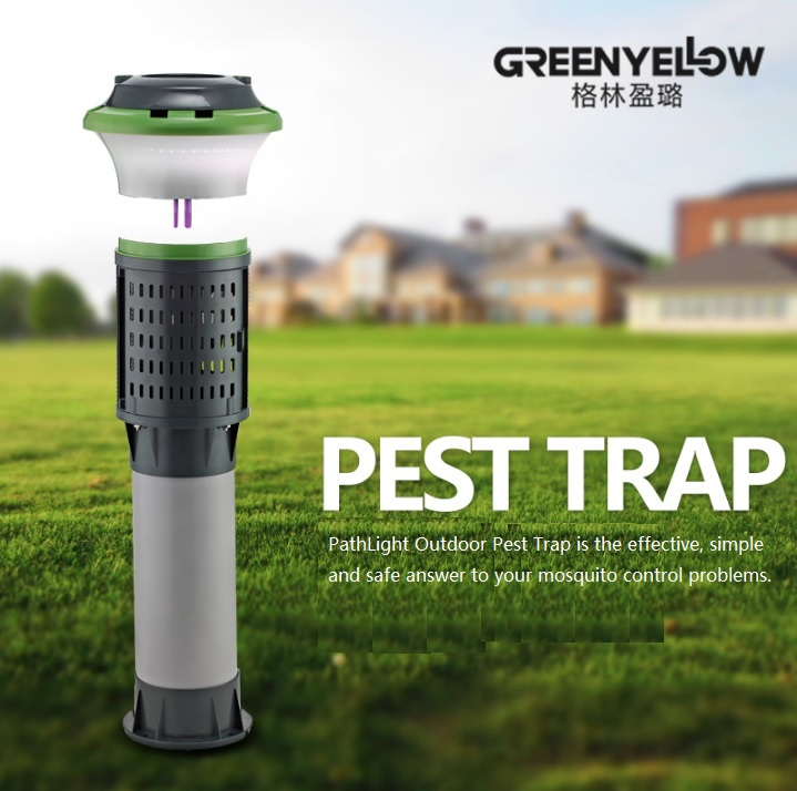 220V 30W Yard Mosquitoes Trap in Path Light 102cm Height