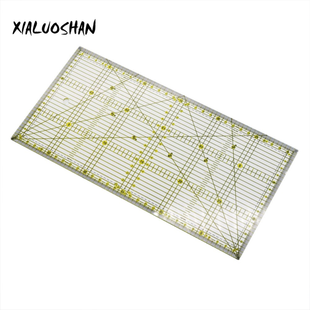 Office School Line Drawing 15x30cm DIY Essential Dedicated Patchwork Rulers 3mm Thick Acrylic Material Drawing Ruler Tool