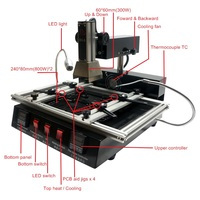 Updated IR Infrared LY M770 BGA Rework Station 220V 1900W For Bga Repairing