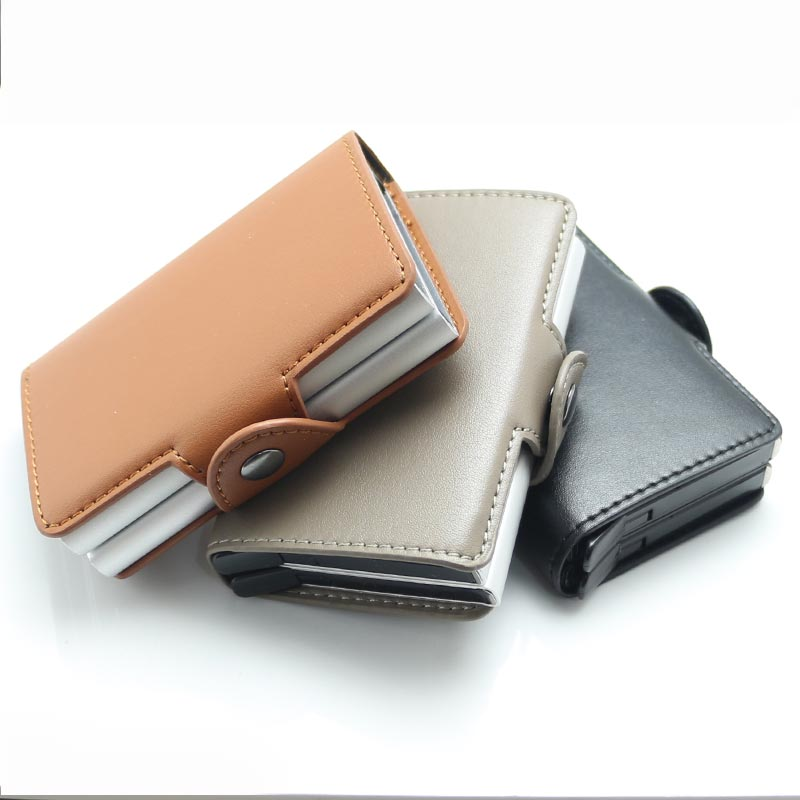 Analytical Genuine Leather Card Pack Organizer Business Rfid Credit Card Holder Women Travel Card Bag Zipper Small Change Purse For Women Complete In Specifications Card & Id Holders Back To Search Resultsluggage & Bags
