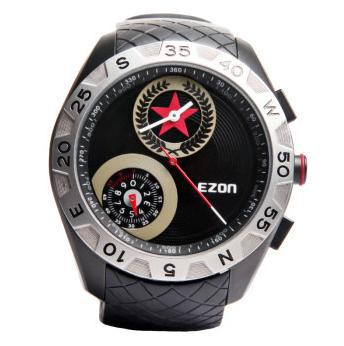 ezon watch H607A11 Multifunction Compass altitude climb mountain water resistant military army watch цена