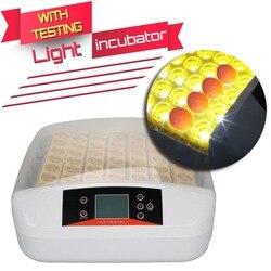 Германия склад автоматический 56 яйца куриный инкубатор утка инкубатория авто для вылупления яиц аппарат с свет питомнике
