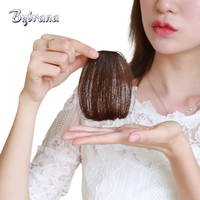 Bybrana Brazilian Human Hair Human Clip In Hair Extensions Two Styles Free Short Straight Remy Hair