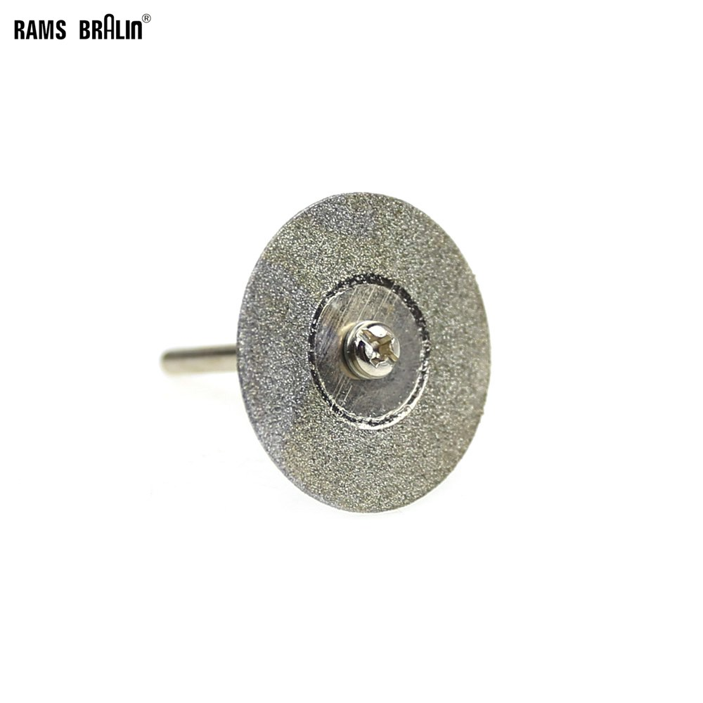 10 Pcs Dia. 22/30mm Dremel Diamond Cutting Disc Mini Drill Cutter For Stone Metal Jade Cutting