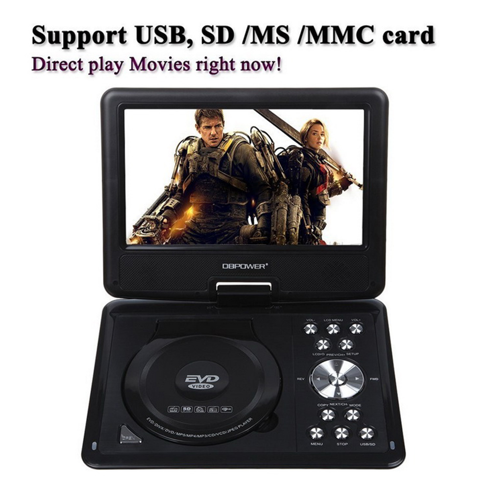 NEW 13.8 INCH PORTABLE DVD PLAYER MP3 MP4 VDIEO GAME WITH HIGH RESOLUTION COLOR TFT LCD SCREEN DISPLAY AV PORTABLE TV chimole a910 high quality high power 300w 9 inch high definition display dvd player portable square speakers