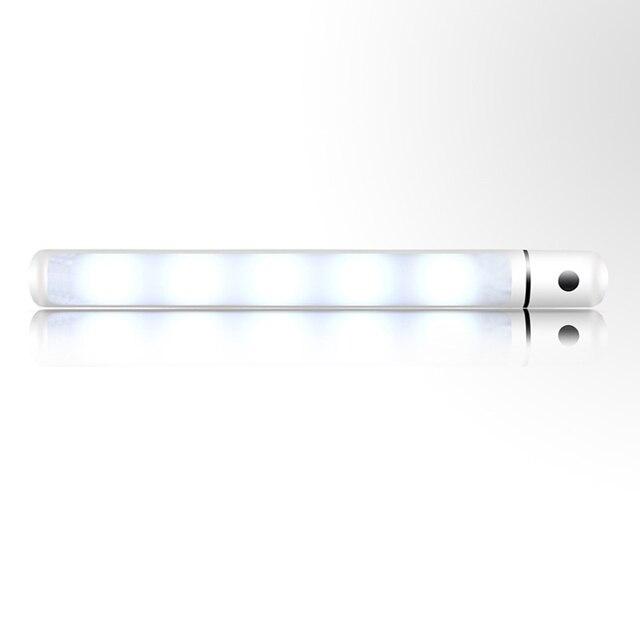 5 Led Wireless Motion Sensing Light Bar Dimming Magnetic Battery