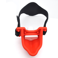 Adult Games Piss Urinal Mouth Gag Bondage Harness Belt With 4pcs Gag Ball Slave BDSM Sex