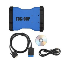 Car Diagnostic Tool TCS CDP Automobile Detector Bluetooth Version 2 Green Boards Parameters Recording In Real Time