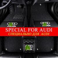 5D Двухместный Custom Fit автомобильные коврики для Audi A1 A3 A4 A5 A6 A7 A8 Q3 Q5 Q7 RS4 RS5 RS5 RS6 RS7 TT S3 S4 S5 S6 S7 S8 SQ5