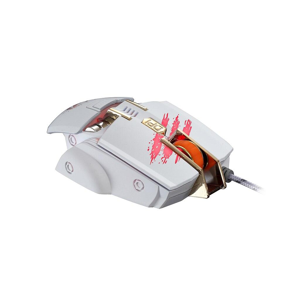 aliexpress com buy rajfoo gaming mouse 7 keys macro settings usb