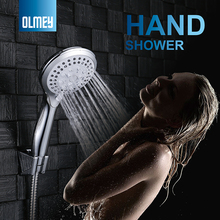 OLMEY Premium 5-Settings Wall Mounted Hand Shower High Pressure Handheld Shower Head Package 51004
