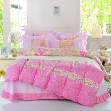 2015 Classic Plaid 4PCS Soft And Warm Bedding Set Twin Full Queen King Size Bed Linen Cotton Sheets BS22-16