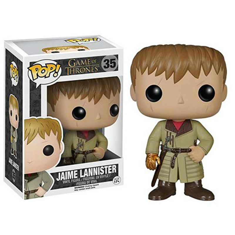 Funko Pop Game Of Thrones JAIME LANNISTER Action Figure Model Pvc Collection Toys For Chlidren Christmas Gifts