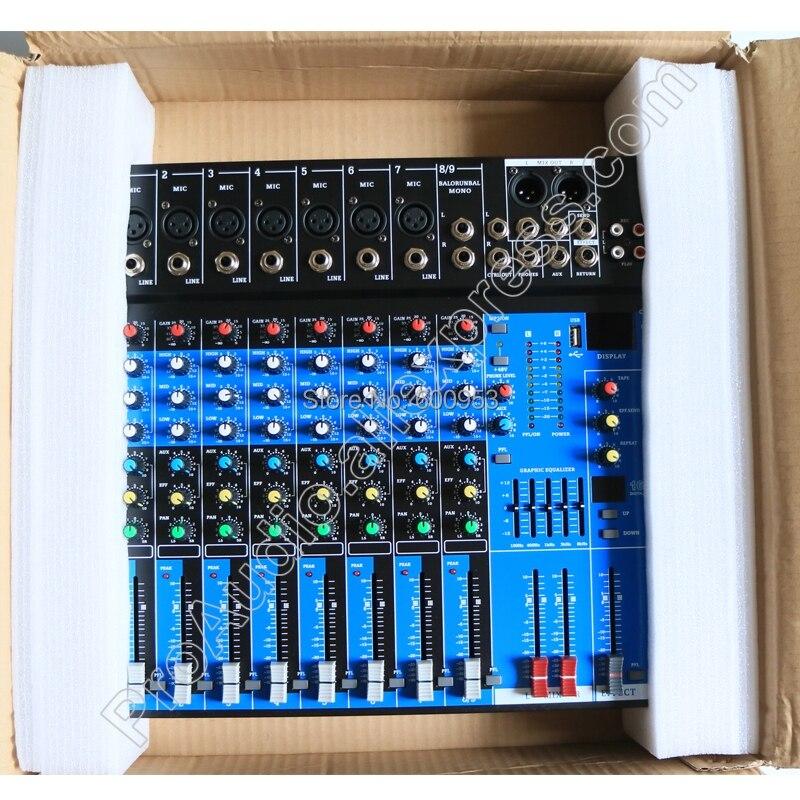 Angemessen Micwl Xc80 8 Kanal Wireless Bluetooth Mikrofon Sound Mischpult Mixer 16 Dsp Digitale Effekte Für Bühne Mit Usb Dinge Bequem Machen FüR Kunden Heim-audio & Video Unterhaltungselektronik