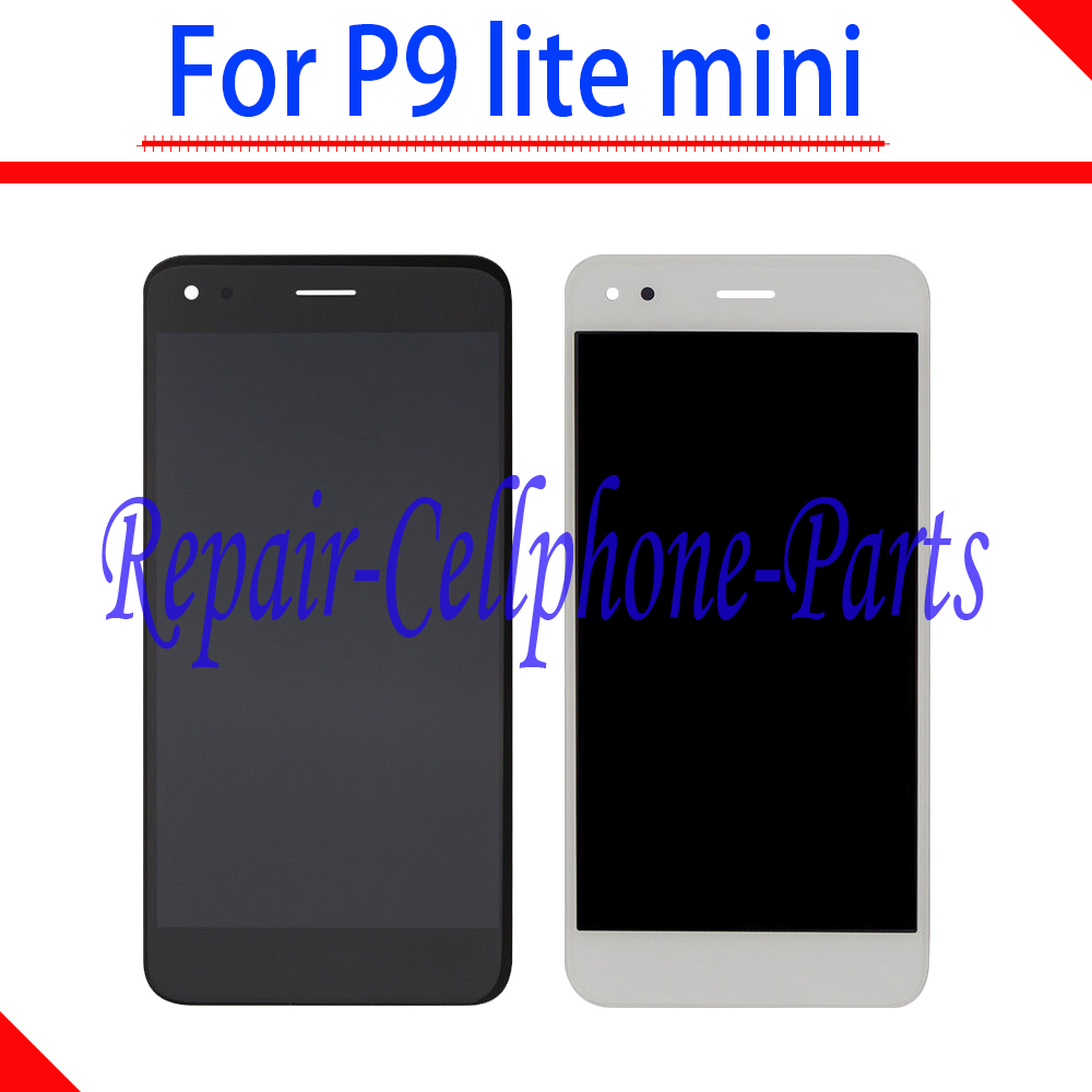 5.0 inch Gold / White / Black Full LCD DIsplay + Touch Screen Digitizer Assembly For Huawei P9 lite mini Free Shipping