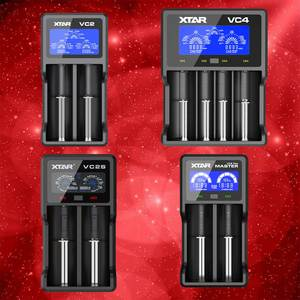 Lcd-Battery-Charger VC2 XTAR for 20700/17500 Vc2-Plus VC4 Colorful VA
