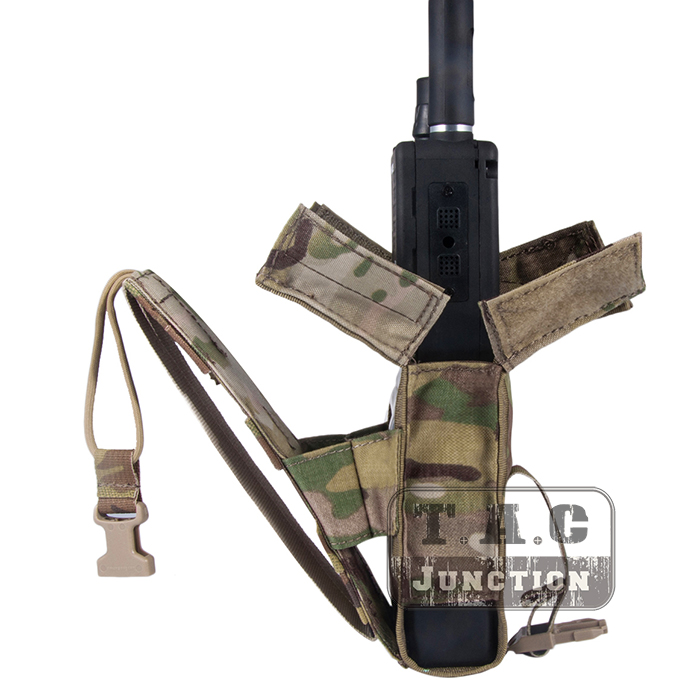 Image 4 - Emerson Tactical MOLLE Universal MBITR PRC 148 PRC 152 Radio Pouch EmersonGear Walkie Talkie Pocket For for Attaching RRV Vest-in Pouches from Sports & Entertainment