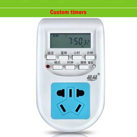 Led Grow Light Plants Fill Light Tank Timer Countdown Electric Clock Switching Timing Socket Mobile Timing