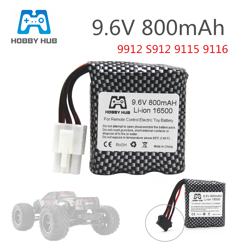 Original Hobby Hub 9.6V 800mAh Li-ion <font><b>battery</b></font> for <font><b>9115</b></font> S912 9116 high speed <font><b>RC</b></font> Truck <font><b>RC</b></font> car <font><b>battery</b></font> 9.6 v free shipping image