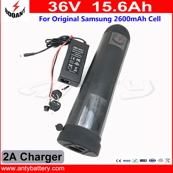 Bottle Lithium Battery 36V 15Ah eBike Battery 36V For 8fun Bafang Motor 800W With 2A Charger 30A BMS Electric Bike Battery 36V free customs taxes 36v 10ah li ion battery 36v 10ah water bottle lithium battery 36v 10a battery for ebike with bms and charger