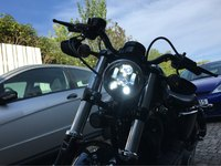 Motorrad Led Beleuchtung Harley MOTO 5 75 zoll LED Scheinwerfer 5 3/4 zoll MOTO Led scheinwerfer Für Harley Sportsters Scheinwerfer auf