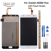 5 5inch For Oukitel K6000 Plus LCD Display And Touch Screen 100 Original Screen Digitizer Assembly