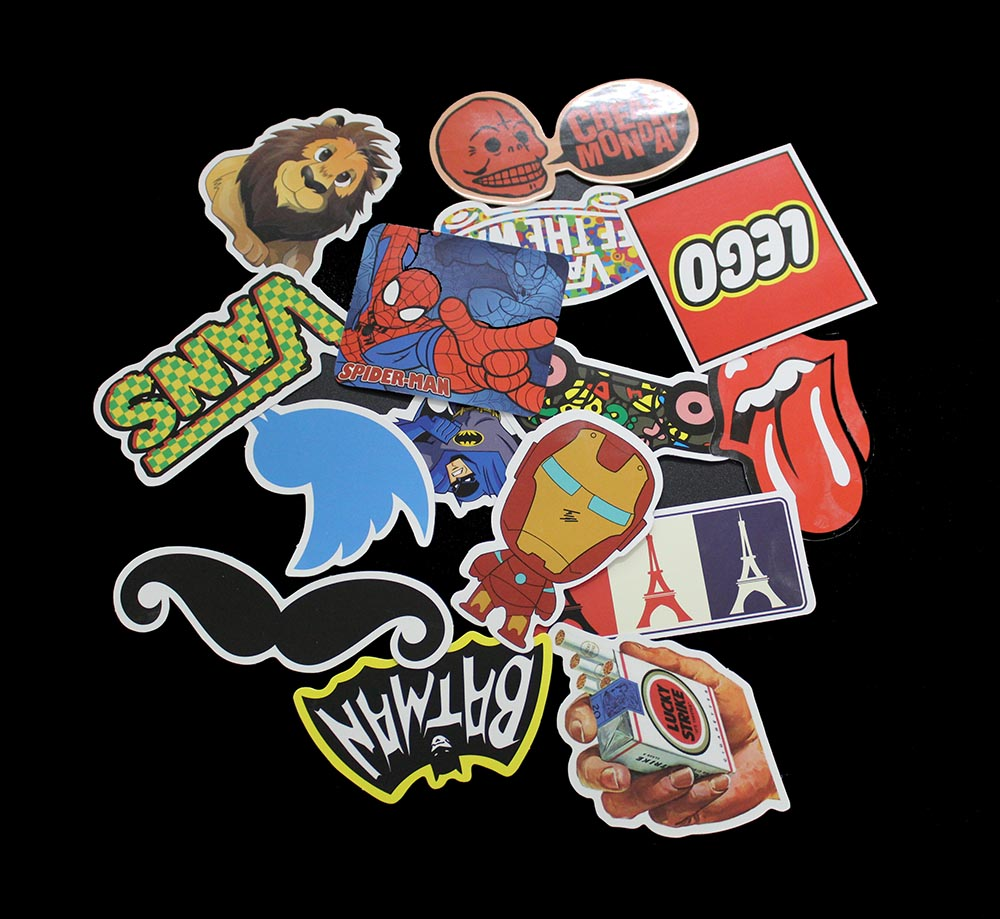 100 PCS Style A Stickers Toy Phone Skateboard Waterproof DIY Decal Luggage Laptop Car Styling JDM Doodle Funny Sticker