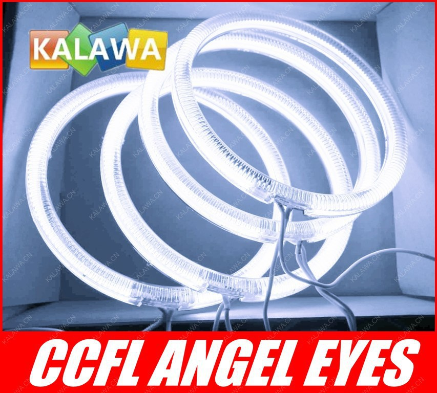 a set CCFL 8000K Angel Eyes case for Toyota Fortuner 2008 / Halo Ring Halo Light headlight 3 COLORS OPTION GGG for honda odyssey 4th g rb3 rb4 chassis 2008 present excellent ultrabright headlight illumination ccfl angel eyes kit halo ring