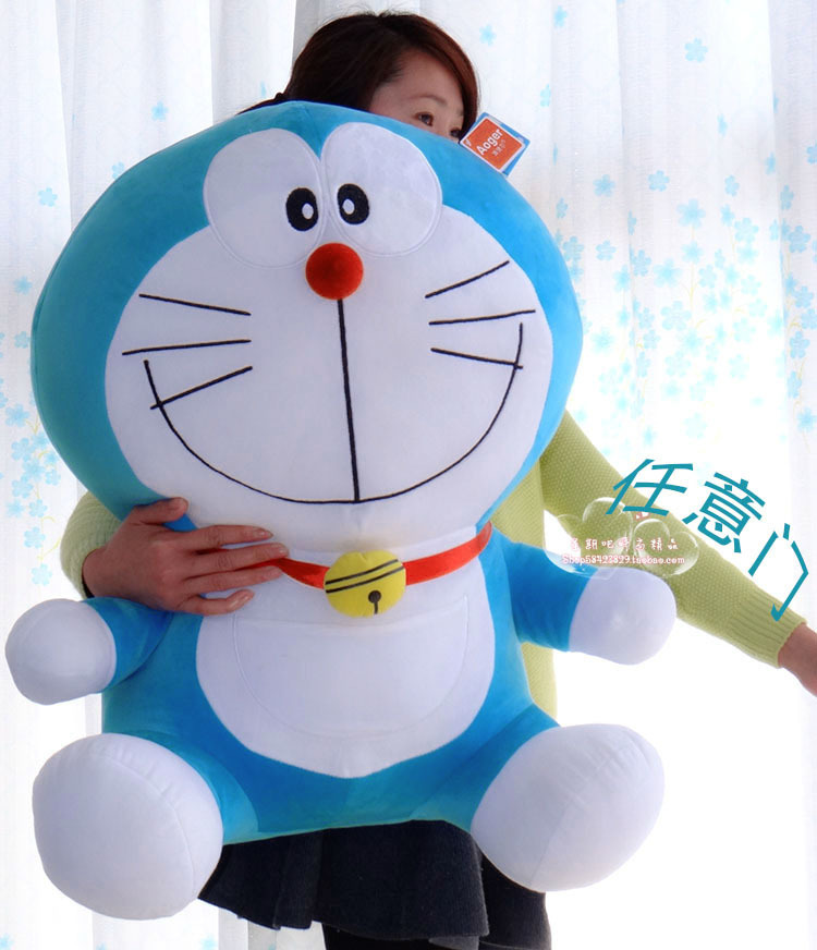 STuffed plush toy 68cm classic Doraemon doll about 26 inch soft Toy birthday gift wt6765