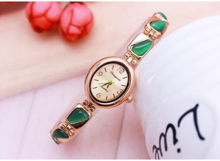 CHAOYADA Bracelet Watch For Women Ladies Fashion Quartz-watch Female Imitation Diamond Wristwatch Watches For Women Female Watch 2016 women diamond watches steel band vintage bracelet watch high quality ladies quartz watch