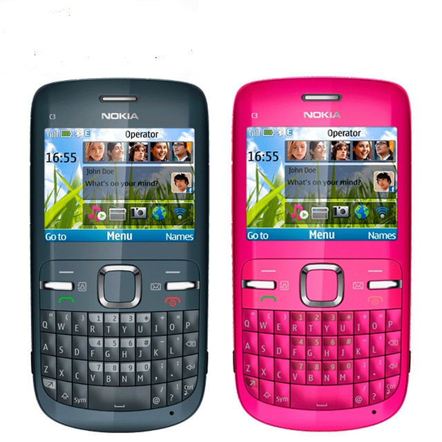 original nokia c3 00 2mp camera unlocked c3 cell phone bluetooth one rh aliexpress com Nokia C3 Symbols Nokia C3- 01