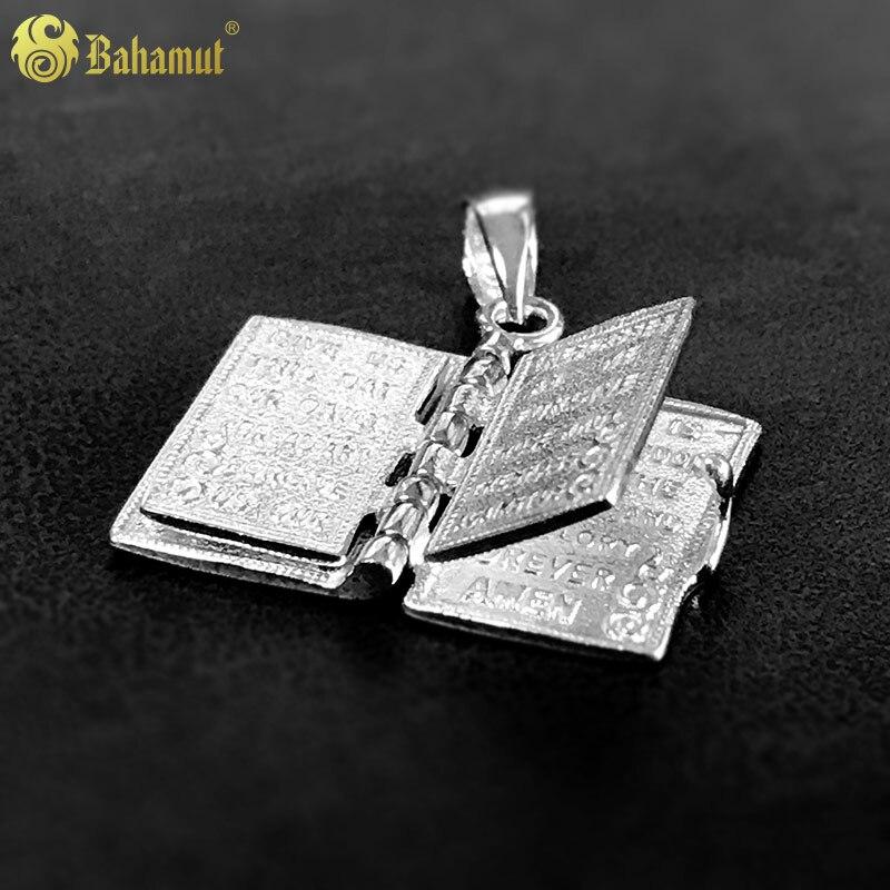 цена на Personamlity 925 Silver Pendant Christian Bible Prayer Cross Pendant 11*22mm Men Necklace Charming Gifts Jewelry Women 2018