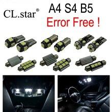 15 шт. Х Canbus Ошибка бесплатный LED Внутреннее Освещение Пакет Комплект для Audi A4 S4 B5 Sedan Quattro (1996-2001)