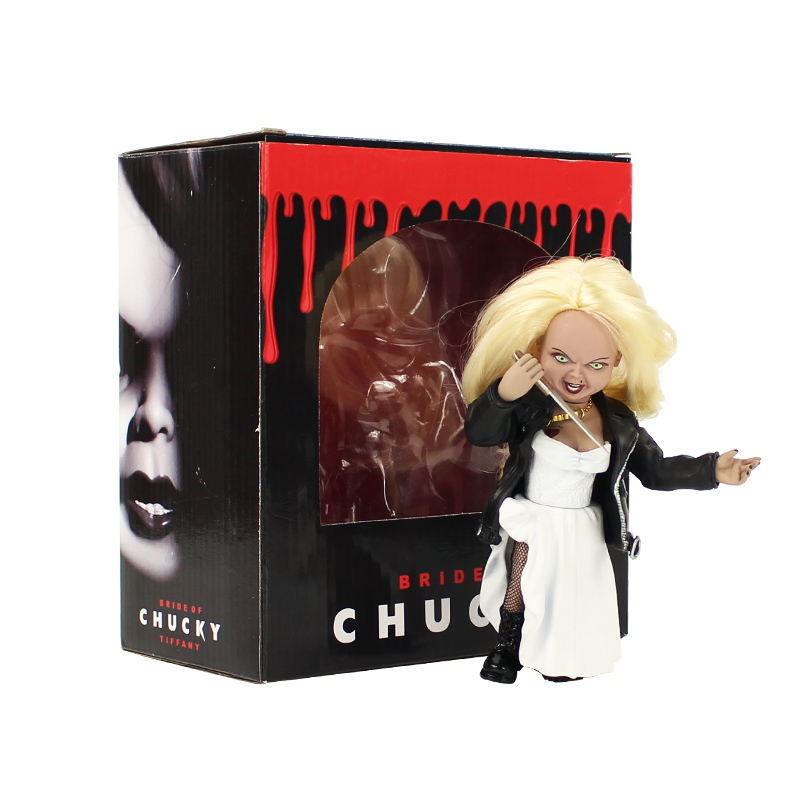 15cm Child's Play Figure Bride of Chucky Tiffany Toys PVC Action Figures Collectible Model Toy Doll
