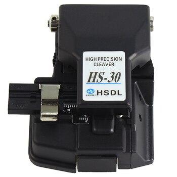Envío libre precio al por mayor, fibra óptica de alta precisión cortador HS-30 fibra óptica cleaver