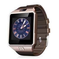 WLNGWEAR 10pcs DZ09 smart watch for Apple android phone support SIM card smartwatch pk gt08 wearable smart electronics