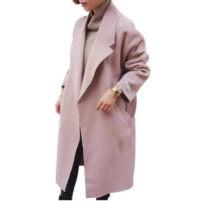 2017 Poncho Inverno Donne di Giacche Spessore Cappotti Autunno Lungo rzrqFw6x