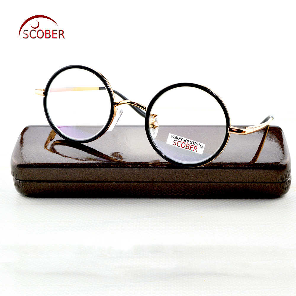 Photochromic Reading Glasses Round Vintage Retro Senator's Spectacles +1 +1.5 +2 +2.5 +3 +3.5 +4.0 Progressive Or Polarized Lens