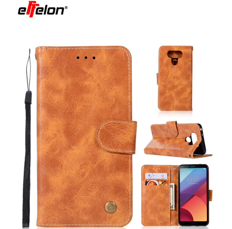 New Case For LG G6 Flip Wallet Cover Cases For LG G 6