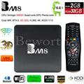 S905X Amlogic Quad Core Android 6.0 Smart TV Box 2 GB 32 GB 4 K Media Player 2.4G & 5G Wifi H.265 BT4.0 BM8 Mini-pc VS A95X X96 TVbox