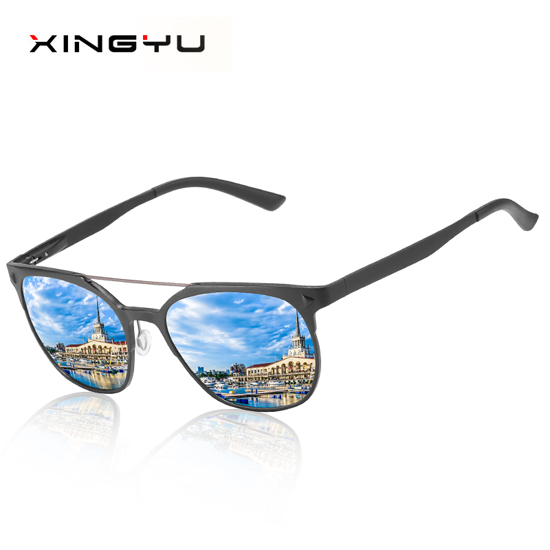 Polarized sunglasses for men and women All aluminum magnesium series Driving glasses Fishing sunglasses mirror in Men 39 s Sunglasses from Apparel Accessories