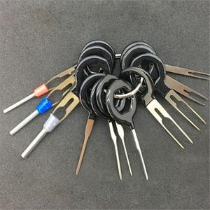 Image 2 - 11 Pcs Terminal Removel Tool Kit Bedrading Crimp Connector Extractor Pin Key Auto Reparatie Tool Plaatwerk Stylus